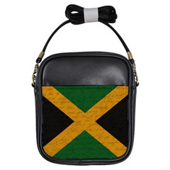 Vintage Flag   Jamaica Girls Sling Bags by ValentinaDesign