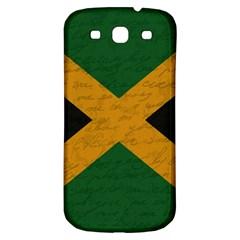 Vintage Flag   Jamaica Samsung Galaxy S3 S Iii Classic Hardshell Back Case by ValentinaDesign