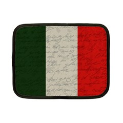Vintage Flag   Italia Netbook Case (small)  by ValentinaDesign