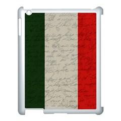 Vintage Flag   Italia Apple Ipad 3/4 Case (white) by ValentinaDesign