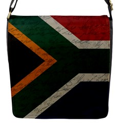 Vintage Flag   South Africa Flap Messenger Bag (s) by ValentinaDesign