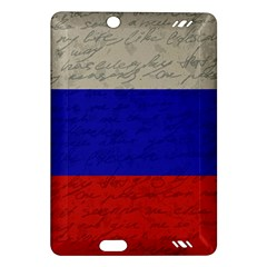 Vintage Flag   Russia Amazon Kindle Fire Hd (2013) Hardshell Case by ValentinaDesign