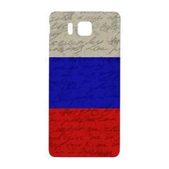 Vintage Flag   Russia Samsung Galaxy Alpha Hardshell Back Case by ValentinaDesign