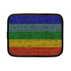 Vintage Flag   Pride Netbook Case (small)  by ValentinaDesign