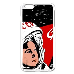 Valentina Tereshkova Apple Iphone 6 Plus/6s Plus Enamel White Case by Valentinaart