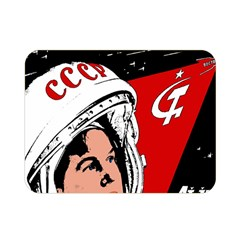 Valentina Tereshkova Double Sided Flano Blanket (mini)  by Valentinaart