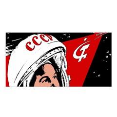 Valentina Tereshkova Satin Shawl by Valentinaart