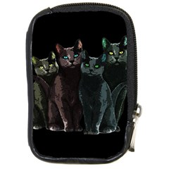 Cats Compact Camera Cases by Valentinaart