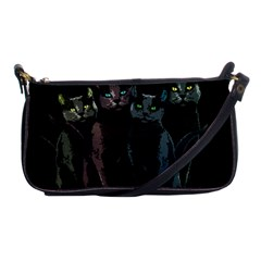 Cats Shoulder Clutch Bags by Valentinaart