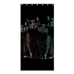 Cats Shower Curtain 36  X 72  (stall)  by Valentinaart