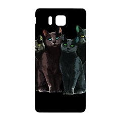 Cats Samsung Galaxy Alpha Hardshell Back Case by Valentinaart