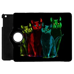 Cats Apple Ipad Mini Flip 360 Case by Valentinaart