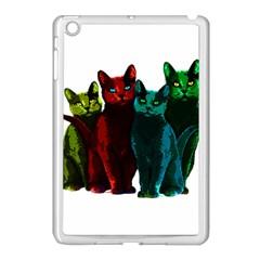 Cats Apple Ipad Mini Case (white) by Valentinaart
