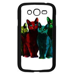 Cats Samsung Galaxy Grand Duos I9082 Case (black) by Valentinaart