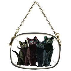 Cats Chain Purses (two Sides)  by Valentinaart