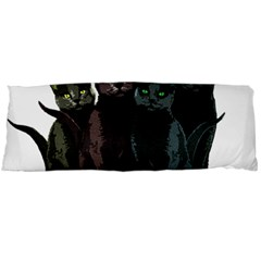 Cats Body Pillow Case (dakimakura) by Valentinaart