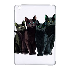 Cats Apple Ipad Mini Hardshell Case (compatible With Smart Cover) by Valentinaart
