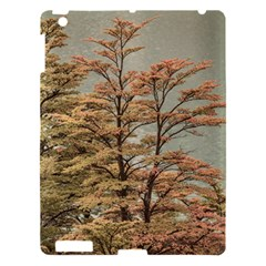 Landscape Scene Colored Trees At Glacier Lake  Patagonia Argentina Apple Ipad 3/4 Hardshell Case by dflcprints