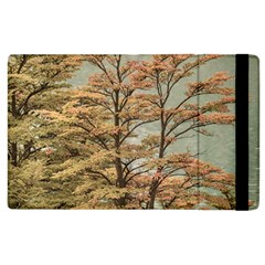 Landscape Scene Colored Trees At Glacier Lake  Patagonia Argentina Apple Ipad 3/4 Flip Case by dflcprints