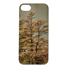 Landscape Scene Colored Trees At Glacier Lake  Patagonia Argentina Apple Iphone 5s/ Se Hardshell Case by dflcprints
