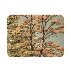 Landscape Scene Colored Trees At Glacier Lake  Patagonia Argentina Double Sided Flano Blanket (mini)  by dflcprints