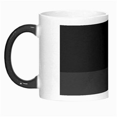 Gray And Black Thick Stripes Morph Mugs by theunrulyartist