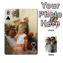 Mariage Steph Marie By Maxmen   Playing Cards 54 Designs   5n3x1xsjagml   Www Artscow Com Front - Spade8