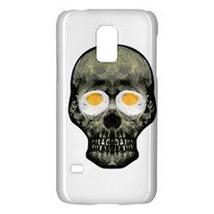 Skull With Fried Egg Eyes Galaxy S5 Mini by dflcprints