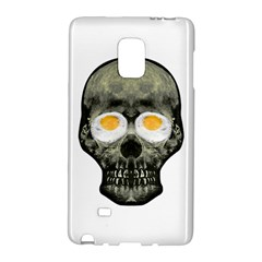 Skull With Fried Egg Eyes Galaxy Note Edge by dflcprints