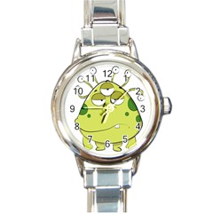 The Most Ugly Alien Ever Round Italian Charm Watch by Catifornia