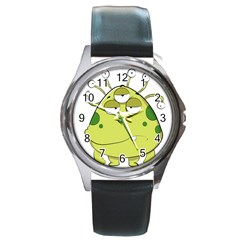 The Most Ugly Alien Ever Round Metal Watch by Catifornia
