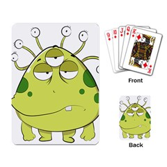 The Most Ugly Alien Ever Playing Card by Catifornia