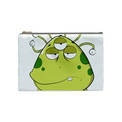The Most Ugly Alien Ever Cosmetic Bag (medium)  by Catifornia