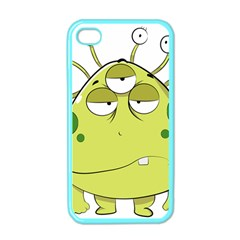 The Most Ugly Alien Ever Apple Iphone 4 Case (color) by Catifornia
