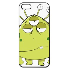 The Most Ugly Alien Ever Apple Iphone 5 Seamless Case (black) by Catifornia