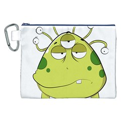 The Most Ugly Alien Ever Canvas Cosmetic Bag (xxl) by Catifornia