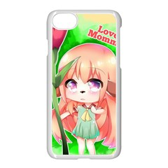 Happy Mother s Day Furry Girl Apple Iphone 7 Seamless Case (white) by Catifornia