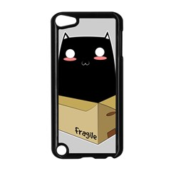 Black Cat In A Box Apple Ipod Touch 5 Case (black) by Catifornia