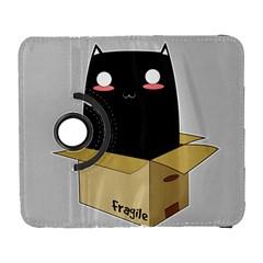 Black Cat In A Box Galaxy S3 (flip/folio) by Catifornia