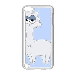 Grumpy Persian Cat Llama Apple Ipod Touch 5 Case (white) by Catifornia