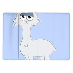 Grumpy Persian Cat Llama Samsung Galaxy Tab 10 1  P7500 Flip Case by Catifornia