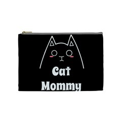 Love My Cat Mommy Cosmetic Bag (medium)  by Catifornia