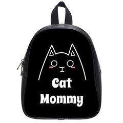 Love My Cat Mommy School Bags (small)  by Catifornia