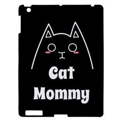 Love My Cat Mommy Apple Ipad 3/4 Hardshell Case by Catifornia