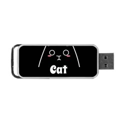 Love My Cat Mommy Portable Usb Flash (one Side) by Catifornia