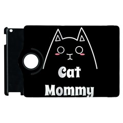 Love My Cat Mommy Apple Ipad 3/4 Flip 360 Case by Catifornia