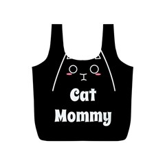 Love My Cat Mommy Full Print Recycle Bags (s)  by Catifornia