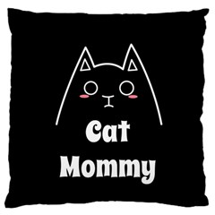Love My Cat Mommy Standard Flano Cushion Case (one Side) by Catifornia