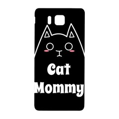 Love My Cat Mommy Samsung Galaxy Alpha Hardshell Back Case by Catifornia