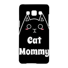 Love My Cat Mommy Samsung Galaxy A5 Hardshell Case  by Catifornia